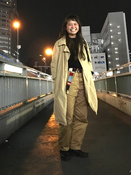 ビームス 大宮ASAMI OKANOさんのレインシューズ「BLUNDSTONE / サイドゴア ブーツ(BEAMS BOY ビームスボーイ)」を使ったコーディネート