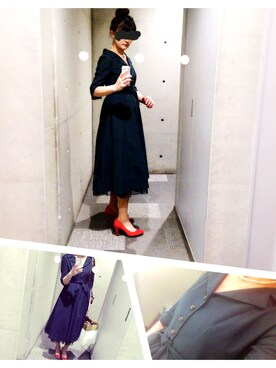 59df8dc231aef ドレスを使った「赤い靴」のレディースコーディネート一覧 - WEAR
