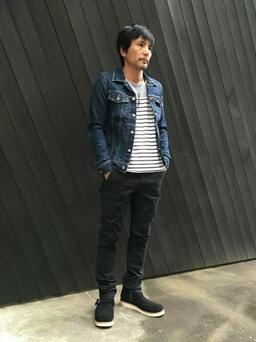 sableclutchさんの「TOUGH VINTAGE STRETCH DENIM JACKET(SABLE CLUTCH)」を使ったコーディネート