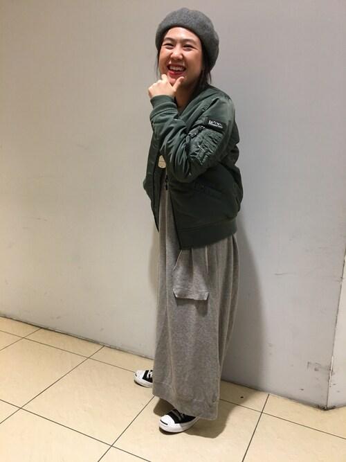 BEAVER新宿店 あかばさんの「(|)」を使ったコーディネート