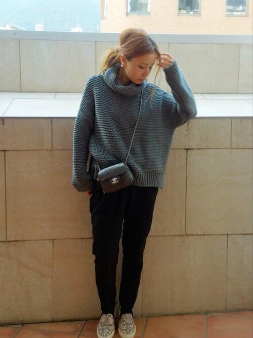 #2 ハイネックセーター