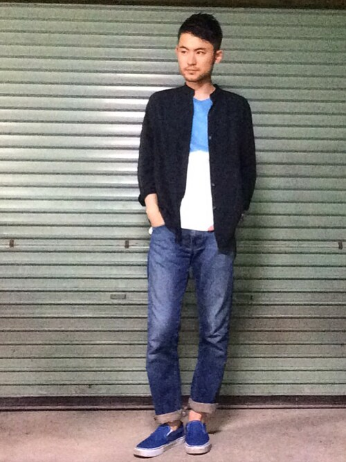 Hirotake Nagataさんのシャツ・ブラウス「RALPH LAUREN 」を使ったコーディネート