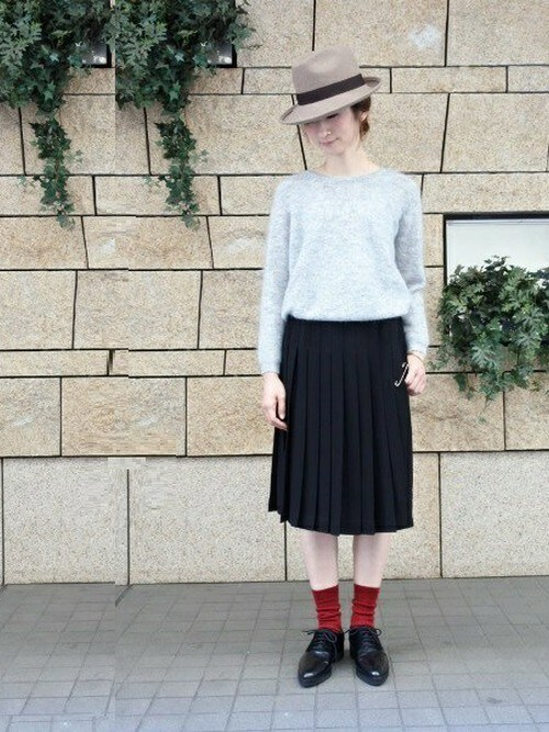 #5 プリーツスカート