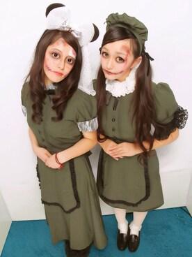 9a3253c2f00a7 メイド服」のレディースコーディネート一覧(髪型:スーパーロングヘアー ...