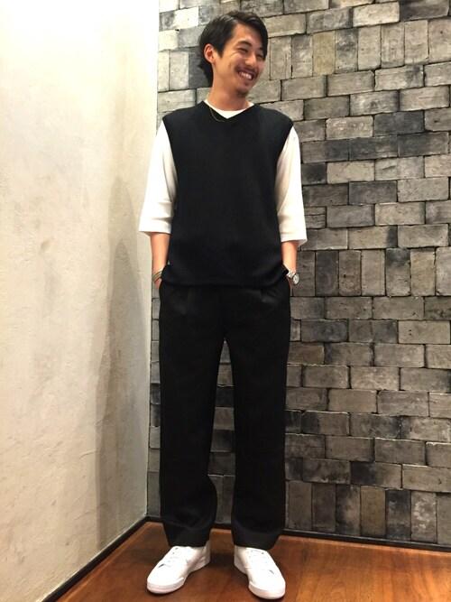 ビューティ&ユース ユナイテッドアローズ 渋谷公園通り店Daisuke Sakamotoさんの「(|)」を使ったコーディネート
