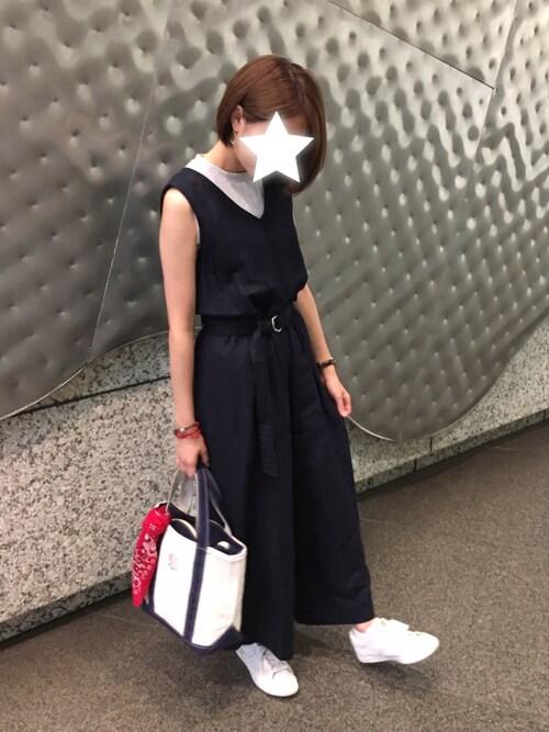ゆいすけさんのスニーカー「ローンシップ  /LAWNSHIP(ONITSUKA TIGER オニツカタイガー)」を使ったコーディネート