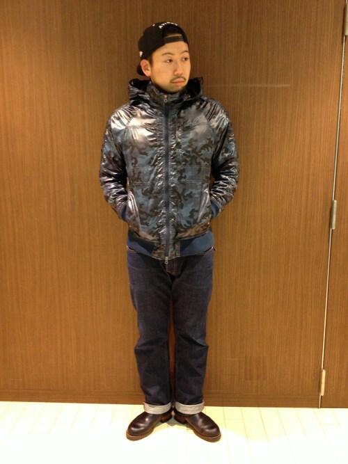 AVIREX 静岡Mr.tsuchiyaさんの「(|)」を使ったコーディネート