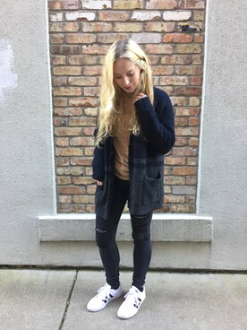 "Shauna Jacobs is wearing American Eagle ""ジェギング"""
