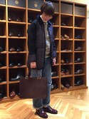 "oyama is wearing LAVENHAM ""LINDSEY/リンゼイ"""