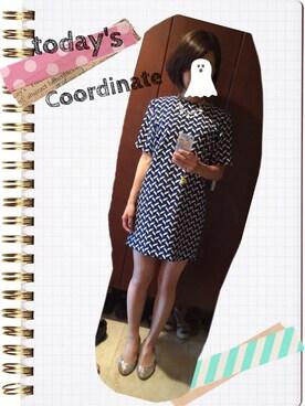 5cb7fb8e84136 ZARA(ザラ)のドレス(ブルー系)を使った「結婚式二次会スタイル」の ...