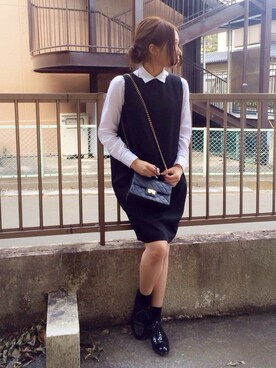 f619e249148fa shihoさんの「ノースリーブワンピース(THE SHINZONE|ザ シンゾーン)」を使っ