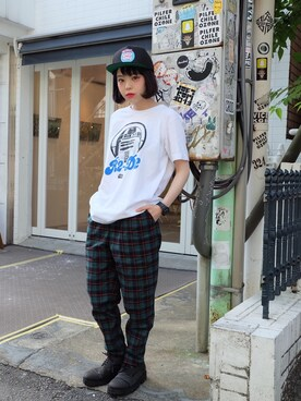 "瀬戸あゆみ is wearing Aymmy in the batty girls ""SW R2D2 Tシャツ"""