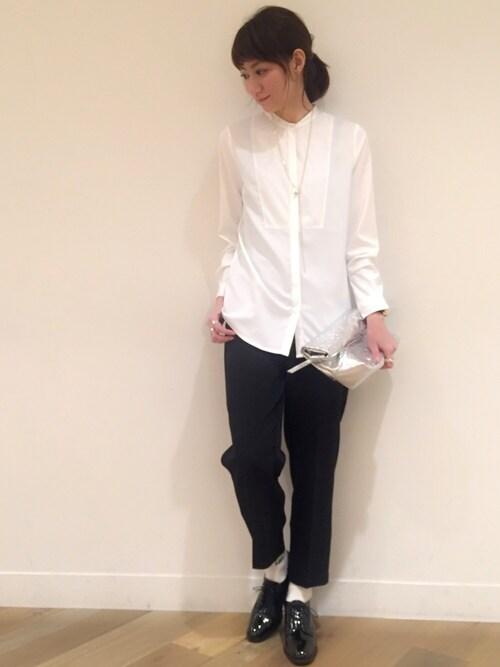 #1 ホワイトシャツ
