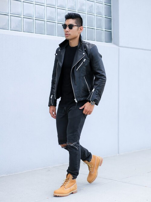 "Levitate Style is wearing Timberland ""Timberland 'Classic Boots Series - Premium' Boot"""