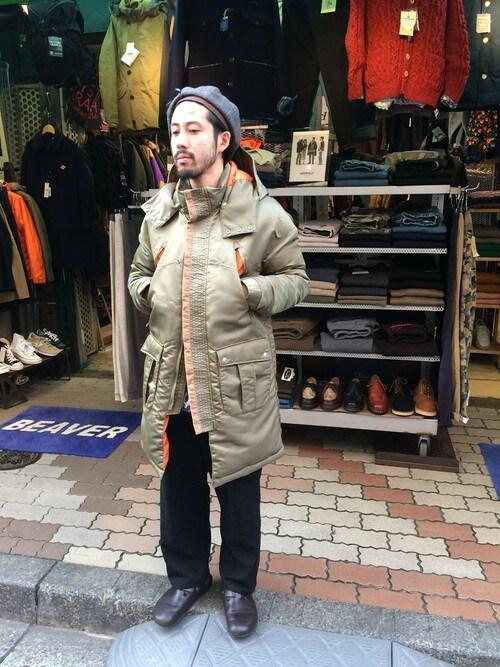 BEAVER上野店 牛木さんのソックス/靴下「rasox/ラソックス/ソフトタッチ・ボーダー(rasox|ラソックス)」を使ったコーディネート