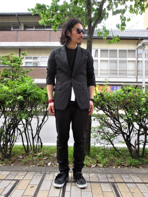 ragazzostaffさんの「JOHNLAWRENCESULLIVAN  SUNGLASSES(JOHN LAWRENCE SULLIVAN)」を使ったコーディネート