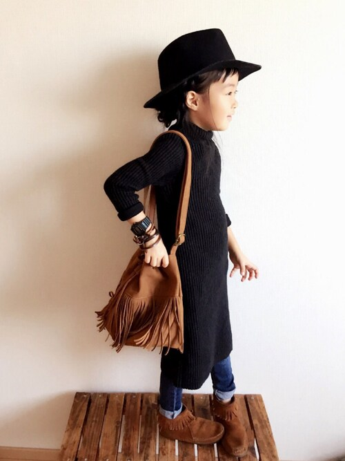 miyuuu.さんの(韓国子供服)を使ったコーディネート