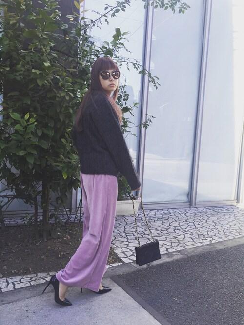 ピンクをハンサムに着る大人シンプルコーデ