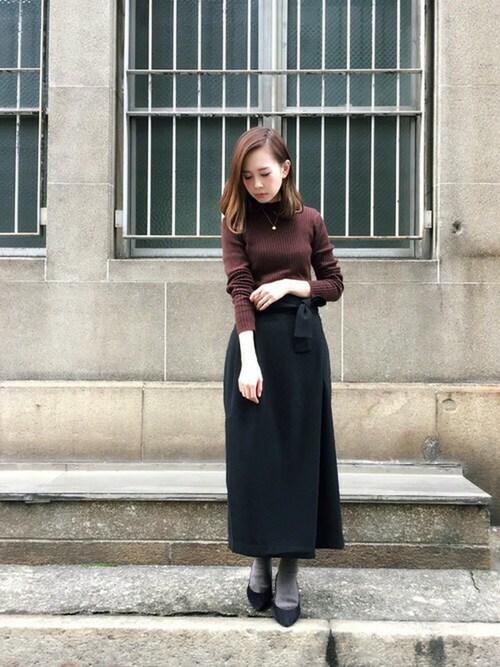 Hareko Web事業部 Kbf のスカートを使ったコーディネート Wear
