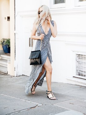 fff1a3b50 Looks featuring Sam Edelman  Silvia  Ankle Strap Wedge Sandal (Women) (2). Look  by Styleinfurno