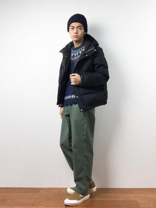 ZOZOTOWNryuto irieさんのニットキャップ/ビーニー「HIGHLAND 2000/ハイランド 2000/ニットキャップ -BOB CAP-(HIGHLAND 2000|ハイランドトゥーサウザンド)」を使ったコーディネート