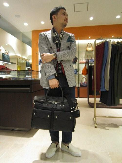 フェリージ吉祥寺横浜店スタッフさんのトートバッグ「トートバック1713/DS+NK(Felisi|フェリージ)」を使ったコーディネート