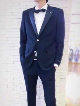 becd54ee79d37 スーツジャケットを使った「結婚式二次会スタイル」のメンズコーディネート一覧(ユーザー:ショップスタッフ) - WEAR
