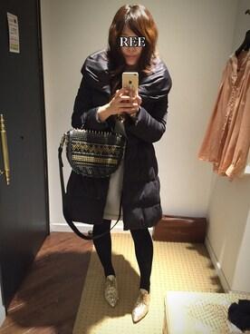 3c9dbd14e7546 REEさんの「リボンがPoint☺ (DOUBLE STANDARD CLOTHING|ダブル スタンダード. 2015.2 11. MIUMIU( ミュウ ...