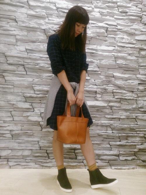クロールバリエ神戸元町店shinさんのブーツ「サイドゴア スニーカー ショートブーツ 【クロールバリエ/COULEURVARIE】(COULEURVARIE|クロールバリエ)」を使ったコーディネート