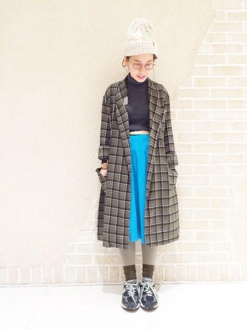 靴下屋 ルクアa.nさんのソックス/靴下「靴下屋/ 薄手2WAYリブショートソックス(靴下屋 クツシタヤ)」を使ったコーディネート