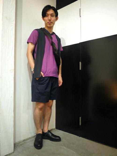 MIDWEST NAGOYA MEN伊藤さんの「(|)」を使ったコーディネート
