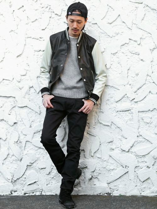 BEAUTY&YOUTH UNITED ARROWSさんの「MT SHEEP AWARD JKT/スタジャン§∴(MONKEY TIME)」を使ったコーディネート