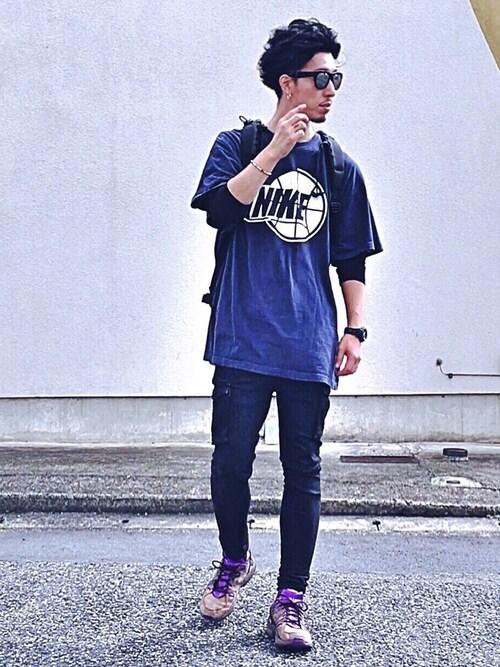 メンズフェスファッションコーデ【屋内】 Tシャツ・カットソー 画像2