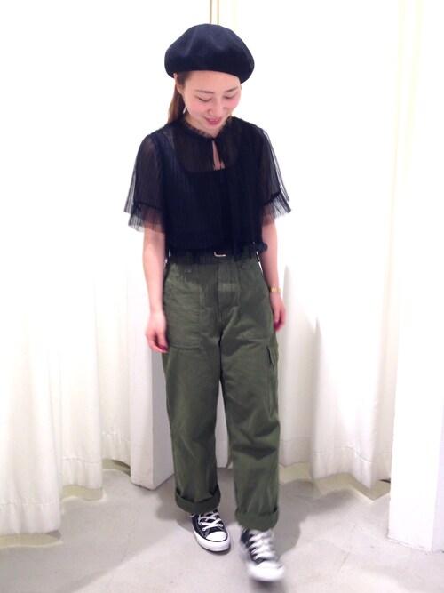Dot&StripesCHILD WOMAN.atelierTSUNOさんの「(|)」を使ったコーディネート