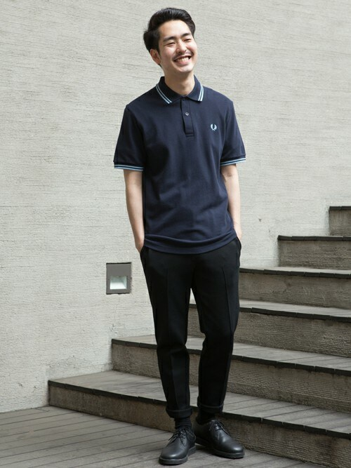 Kentaさんの「The Original Fred Perry Shirt - M12 (Made in England)(FRED PERRY)」を使ったコーディネート