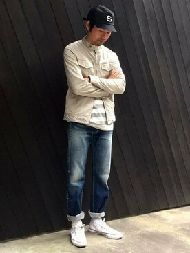 SABLE CLUTCH online order|sableclutchさんの「CHINO STRETCH RAIDERS G JEAN(SABLE CLUTCH)」を使ったコーディネート