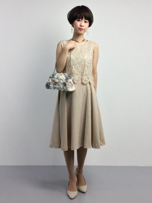 結婚式服装コーデ40代