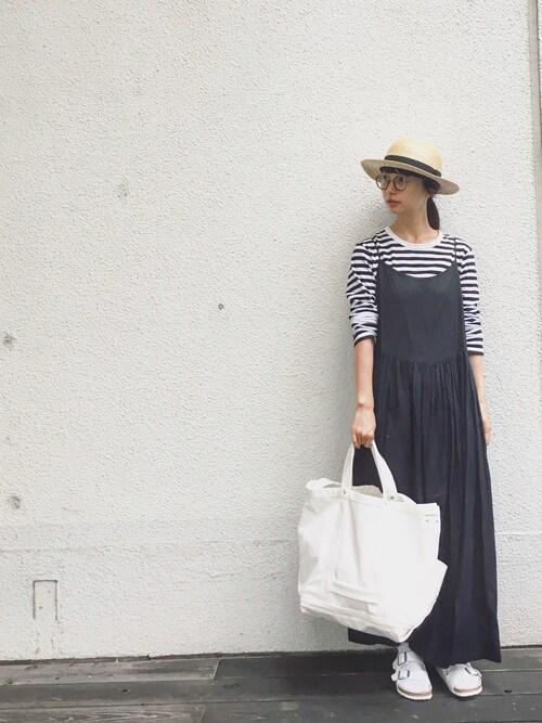 KazumiさんのTシャツ/カットソー「J008 TS(agnes b. アニエスベー)」を使ったコーディネート