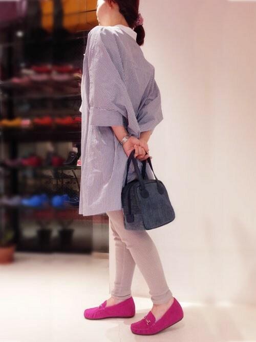 BATH福岡大名店fujiさんのショルダーバッグ「2WAY ショルダーバッグ キューブバッグ 【クロールバリエ/COULEURVARIE】(COULEURVARIE|クロールバリエ)」を使ったコーディネート