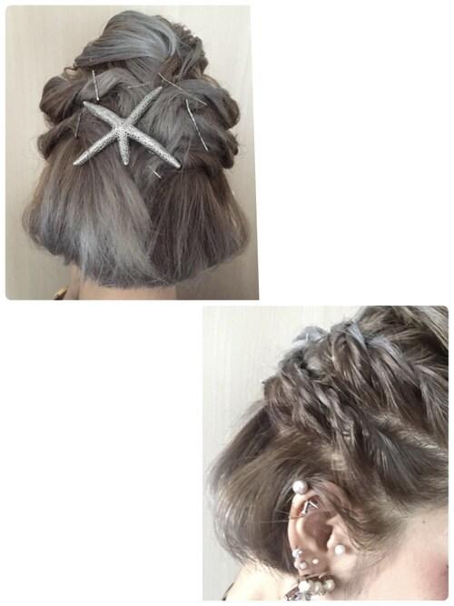 結婚式ショートヘア