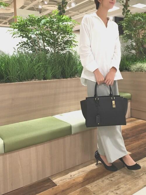 koyuki.90さんのハンドバッグ「【雑誌掲載】サマンサマイン(大)【3年保証対象】(Samantha Thavasa|サマンサタバサ)」を使ったコーディネート