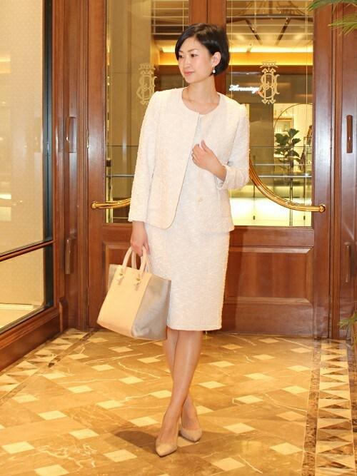 結婚式服装女40代