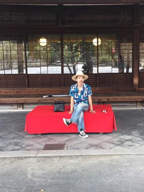 STUDIOUS 南堀江店矢野 勇太さんの「( )」を使ったコーディネート