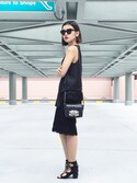 "stylist/evonchng is wearing The Kooples ""Box bag"""
