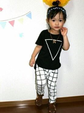 03be86f1b9a97 韓国子供服 プティマイン petitmain 2歳」のキッズコーディネート一覧 - WEAR