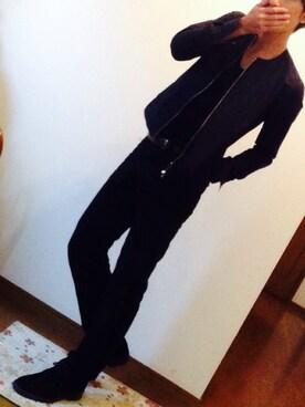 d7434d3d5a59 yusukeさんの「【FACTOTUM】別注タイプライターZIPブルゾン(FACTOTUM|ファクトタム