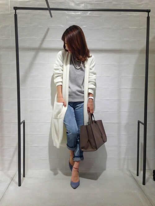 megさんの「Sugar Rose / pineapple long cardi(DRESSLAVE)」を使ったコーディネート