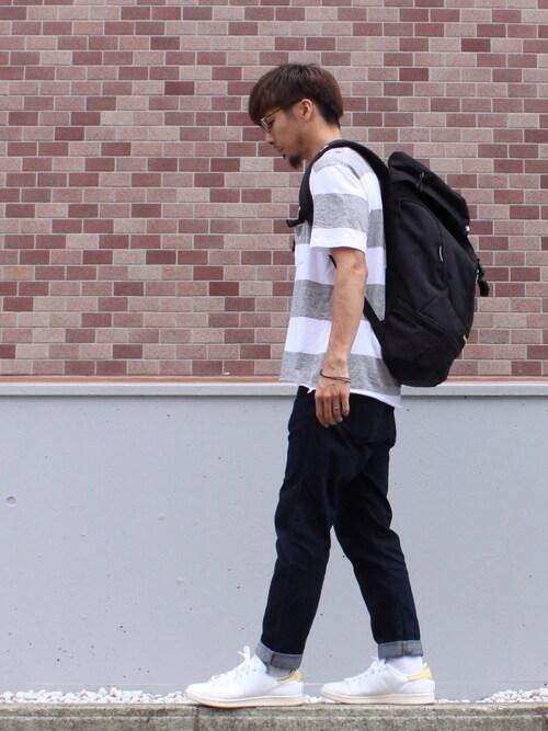 太いボーダーTシャツは、似合う人が少ない 画像1