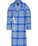 Jacquemus | Jacquemus - Plaid Woven Coat - Bright blue()