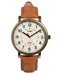Timex | Timex Watch Originals Classic Round Leather Strap T2P220 - Brown(腕時計)